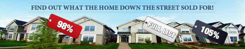 Find Out What The Home Down The Street Sold For Image